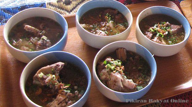 Kuliner Subang Warung Sate Maranggi Dan Sop Ngorejat Di